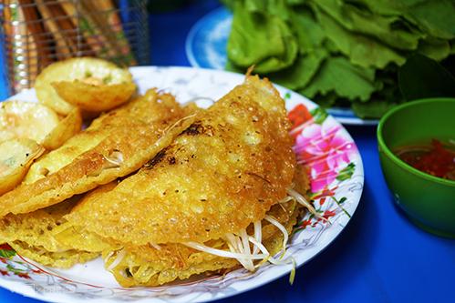 scrumptious dishes in sai gon market