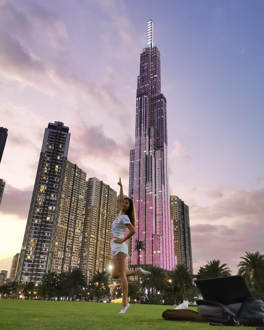 Four tallest buildings in Vietnam offer perfect check-in corners