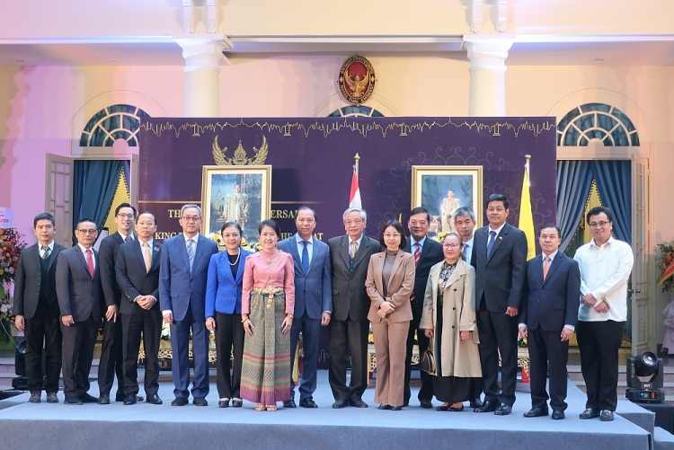 celebrating the 93rd anniversary of thailands national day affirming strong thailand vietnam ties despite covid 19 pandemic