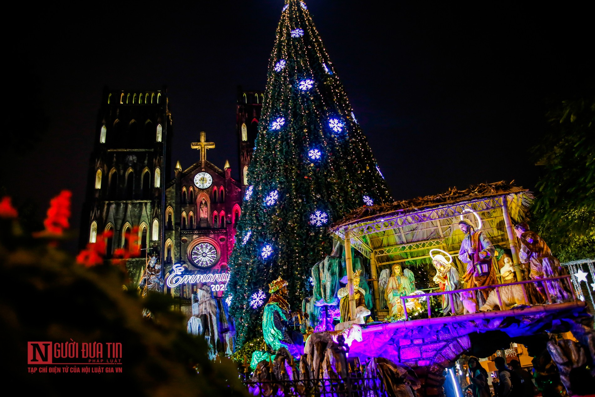 in photos churches in hanoi splendidly decorated for christmas