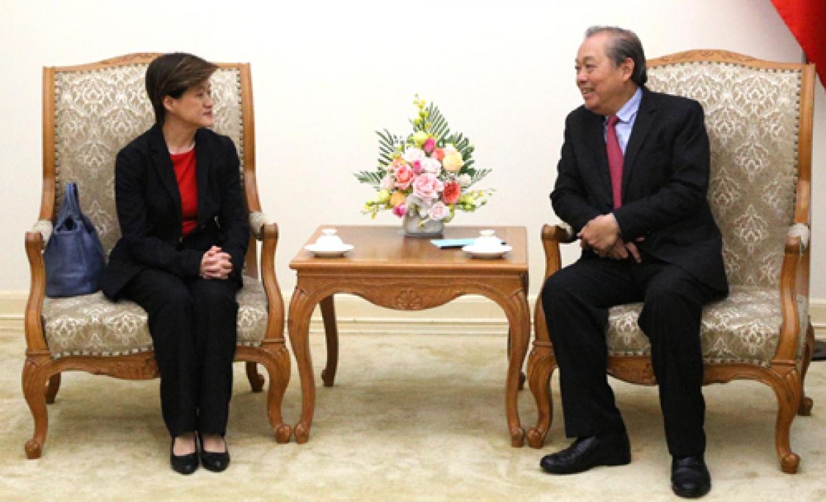 Deputy PM hopes for stronger Vietnam-Singapore cooperation