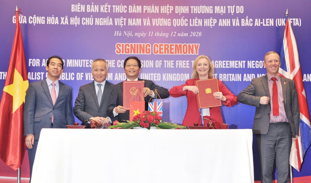 bilateral fta between vietnam and uk officially signed in london