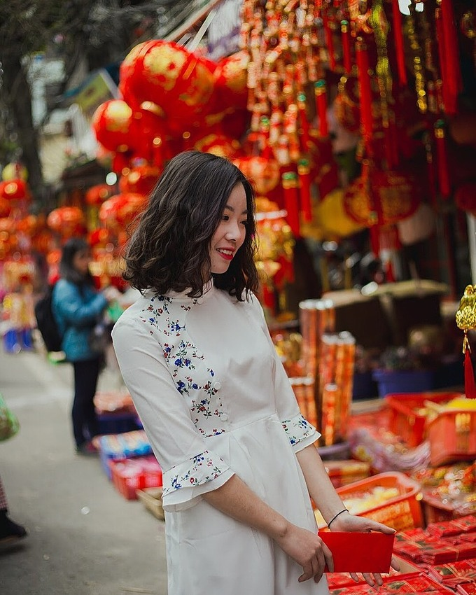 Ho Chi Minh city's 5 places to take photos with Ao dai this New Year