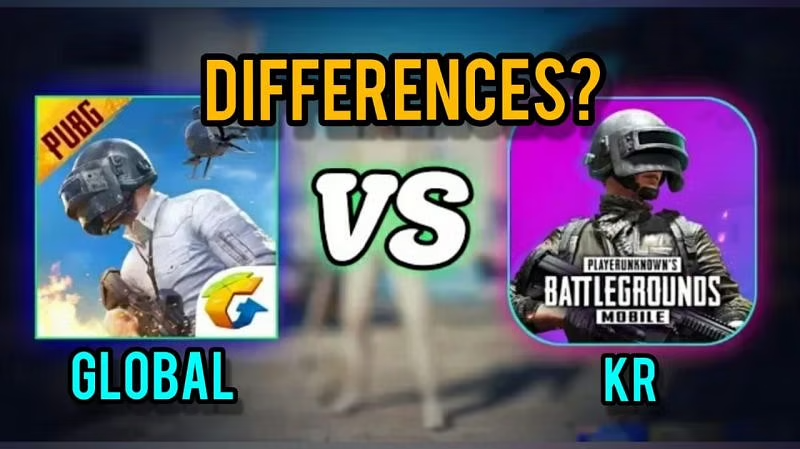 PUBG Mobile global version vs PUBG Mobile Korean (KR) version: How different are the games in 2021?