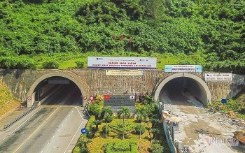 vietnam opens longest road tunnel in southeast asia to traffic