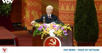 vietnam party congress in western headlines