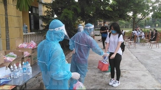 Vietnam's northern village launch massive testing after a Covid-19 community case detected
