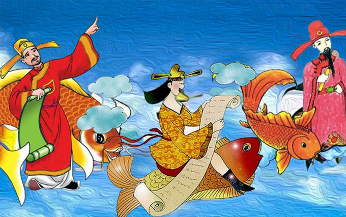 How Vietnamese people celebrate Kitchen God Day across the regions?