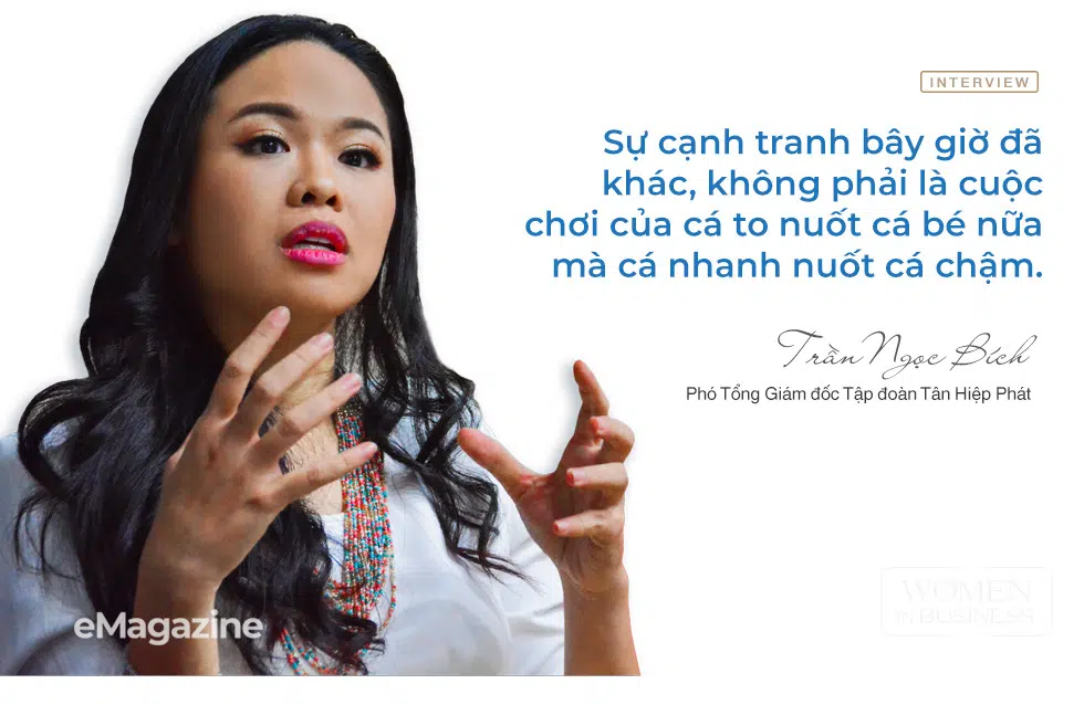 """Tran Ngoc Bich: """"Any individual in Tan Hiep Phat necessarily plays the role of a leader since 2020"""""""