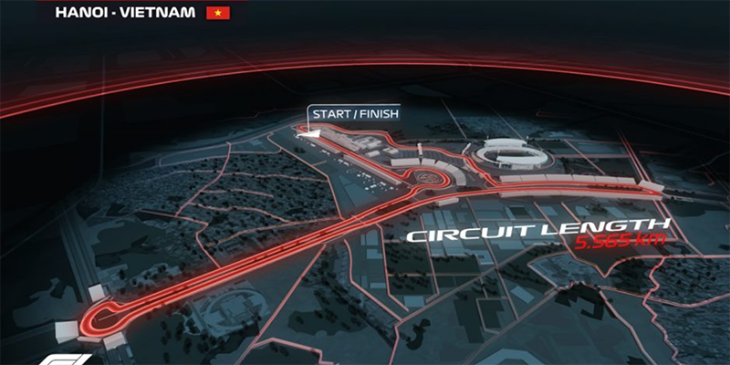 Formula One (F1) in Vietnam may be rescheduled this November