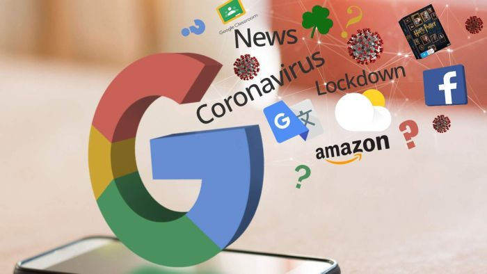 TRENDS dominate GOOGLE searches in some countries amid Covid-19 outbreak?