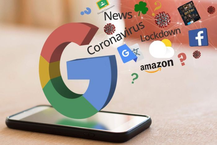 trends dominate google searches in some countries amid covid 19 outbreak
