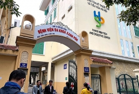 a department of saint paul hospital in vietnam blockaded as covid 19 patient had come by