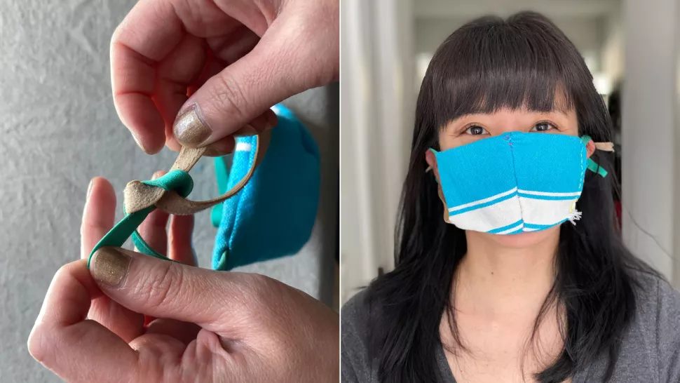 Sewing your own face mask? Vacuum cleaner bag, dish towel or shirt may be useful