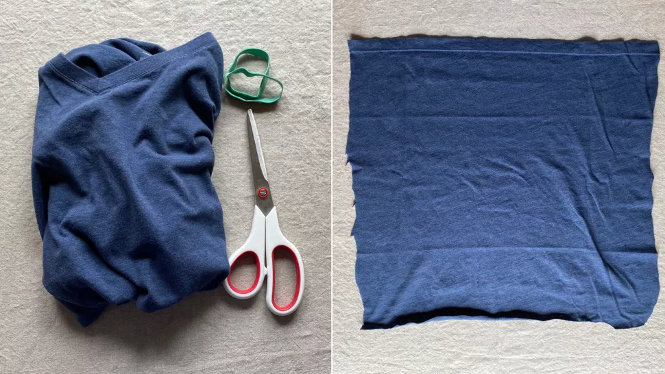 sewing your own face mask vacuum cleaner bag dish towel or shirt may be useful