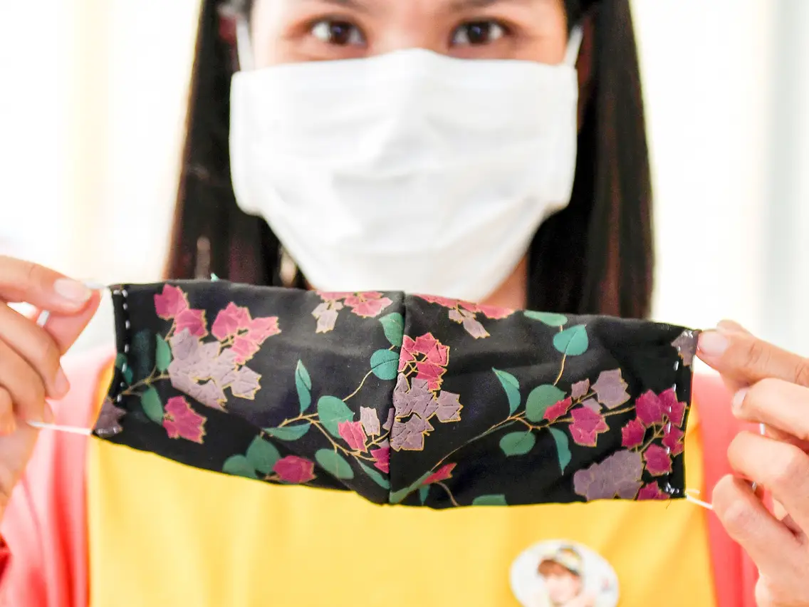 tips on homemade facemask from fabric withwithout sewing
