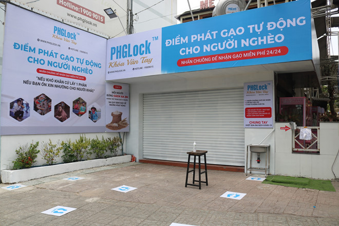 exclusive rice atm launched in vietnam amid coronavirus pandemic