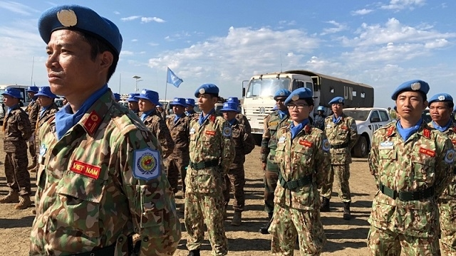 vietnamese peacekeepers stand at frontline of covid 19 battle in south sudan