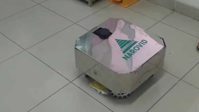 Vietnam unveils disinfectant robot helping cleaners amid Covid-19 outbreak