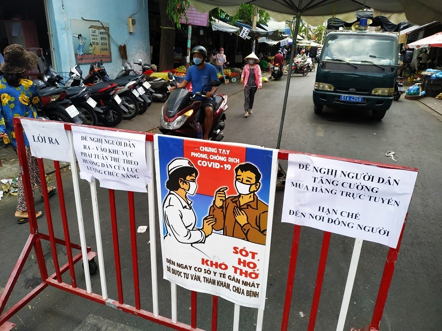 hanoi ho chi minh city propose to ease social distancing order