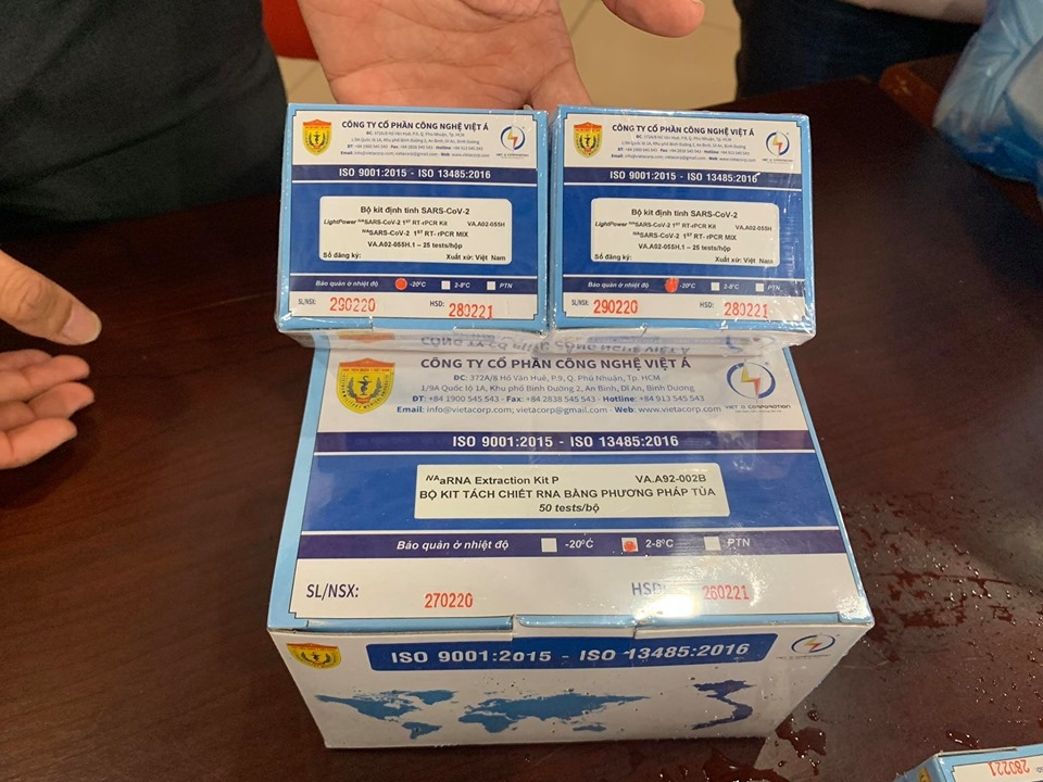 Vietnam's exported Covid-19 test kits meet European standards