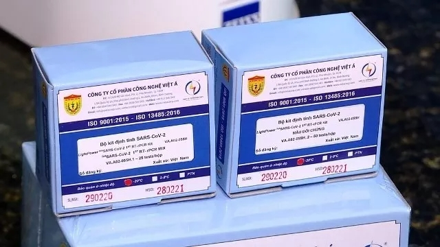WHO approves made-in-Vietnam Covid-19 test kits