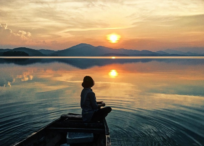 ke go lake vietnams beguiling oasis in the central province