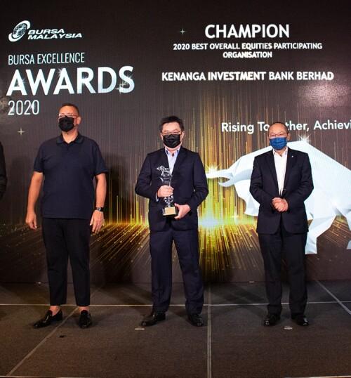 Kenanga Group Wins 7 Awards at The Bursa Excellence Event
