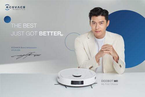 ECOVACS ROBOTICS Appoints Popular Korean Actor Hyun Bin as Brand Ambassador, Adding Excitement To Singapore Market