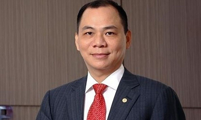 Pham Nhat Vuong, chairman of Vingroup. (Photo courtesy of Vingroup)