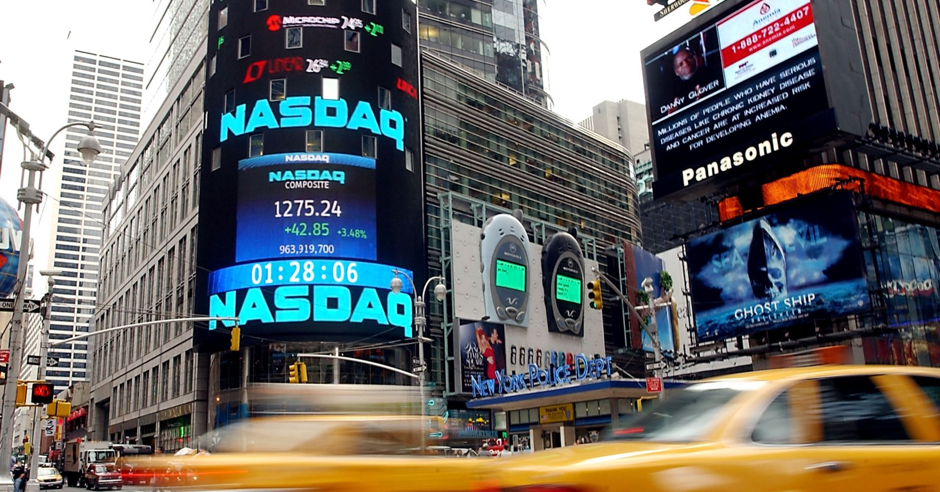 stock prices today nasdaq turns positive tech power retains dow jumps 200