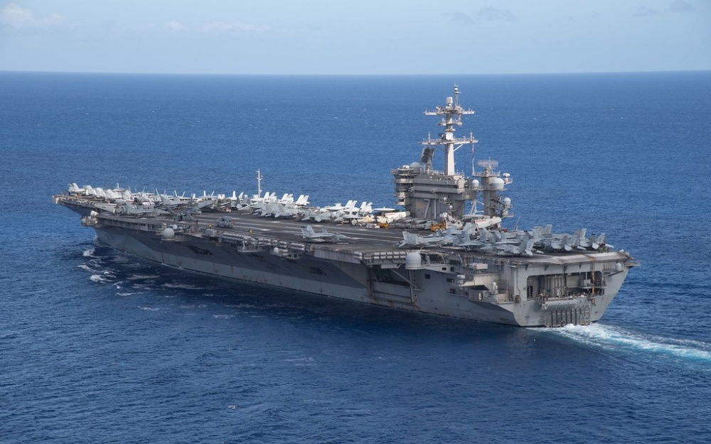 us deploys two carrier groups to the doorstep of south china sea