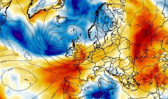 latest weather forecast for uk and europe on july 5 and the next 2 days