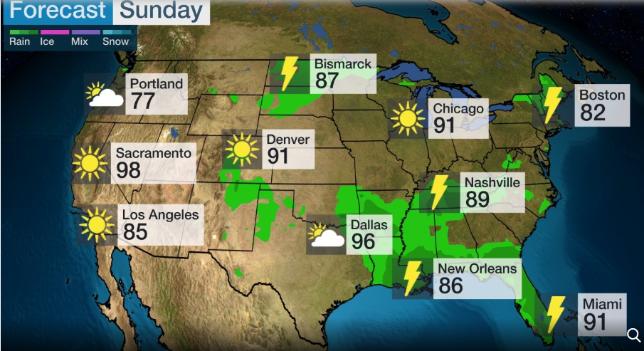 us canada weather forecast july 5 blistering heat wave to ramp up in southwestern central us in july