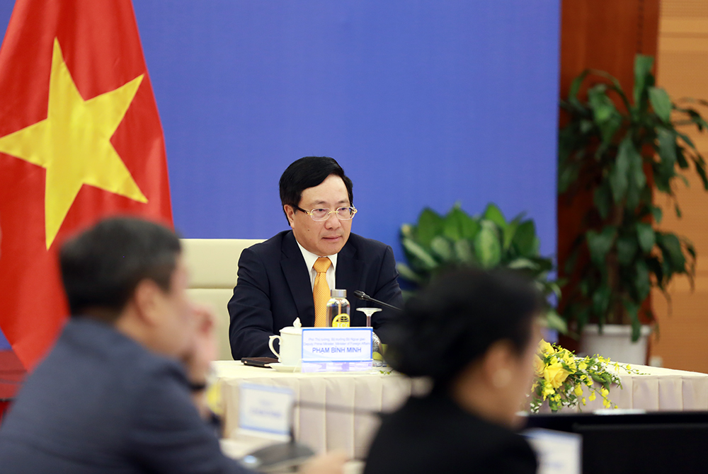 vietnam urges china to well control maritime conflicts at bien dong sea