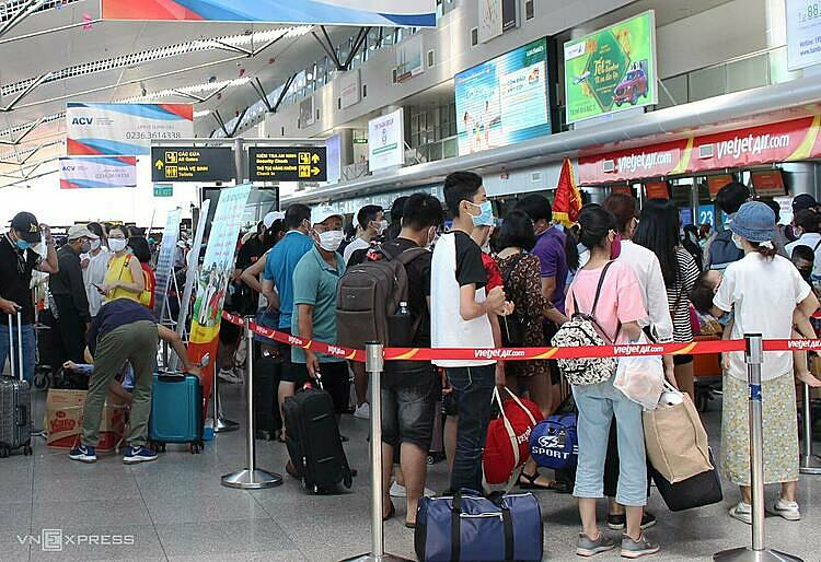 Tourists to be evacuated from Da Nang due to Covid-19 outbreak