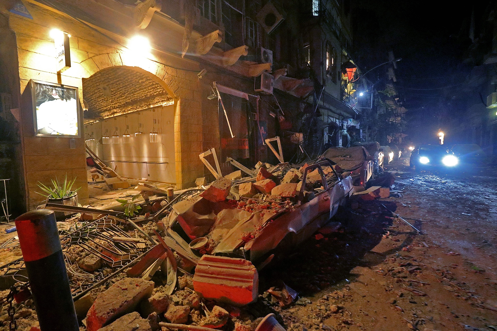 explosion at ammonium nitrate warehouse in lebanon 4000 injured nearly 80 died