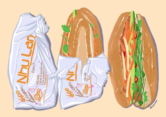 banh mi and pho sources of inspiration for autralians virtual art project
