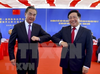vietnam china celebrate 20th anniversary of land border treaty signing