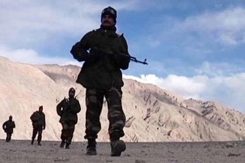 china claims india disturbing border peace after its military camps captured