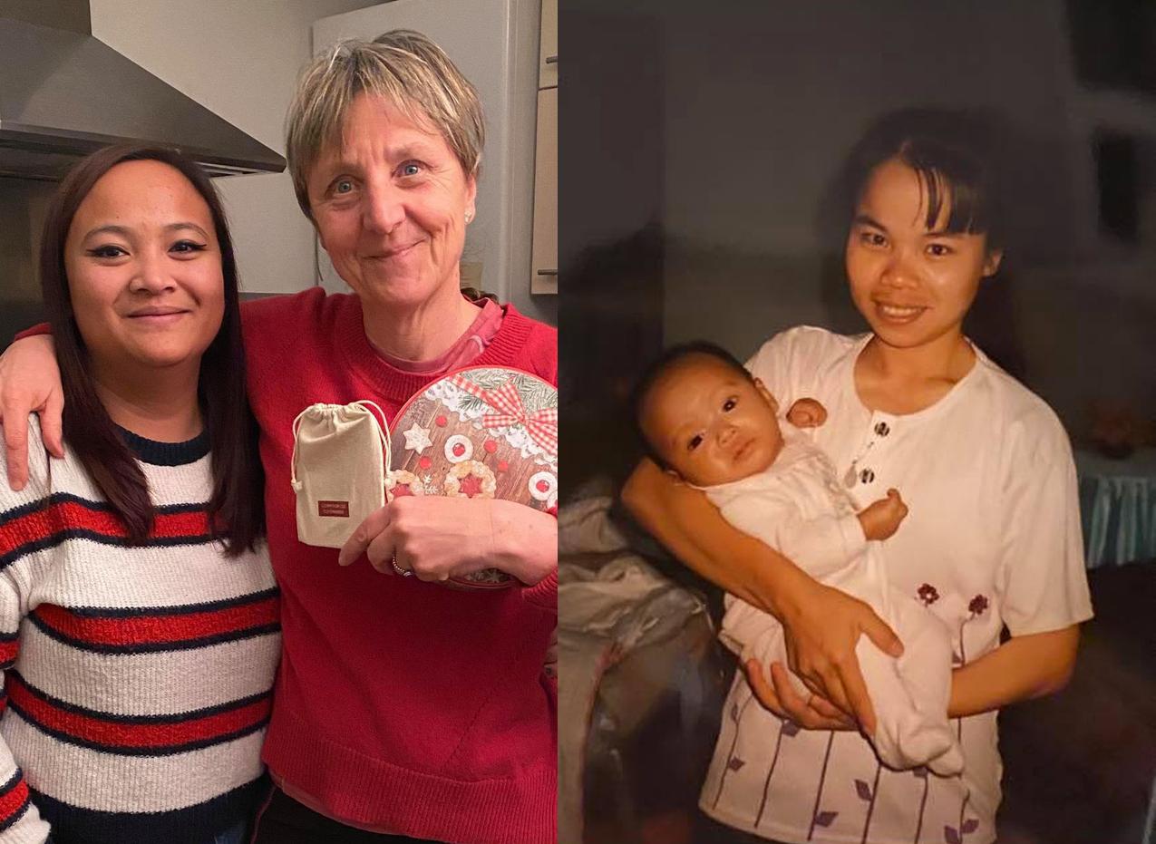 Abandoned Frenchwoman seeks for biological Vietnamese mom