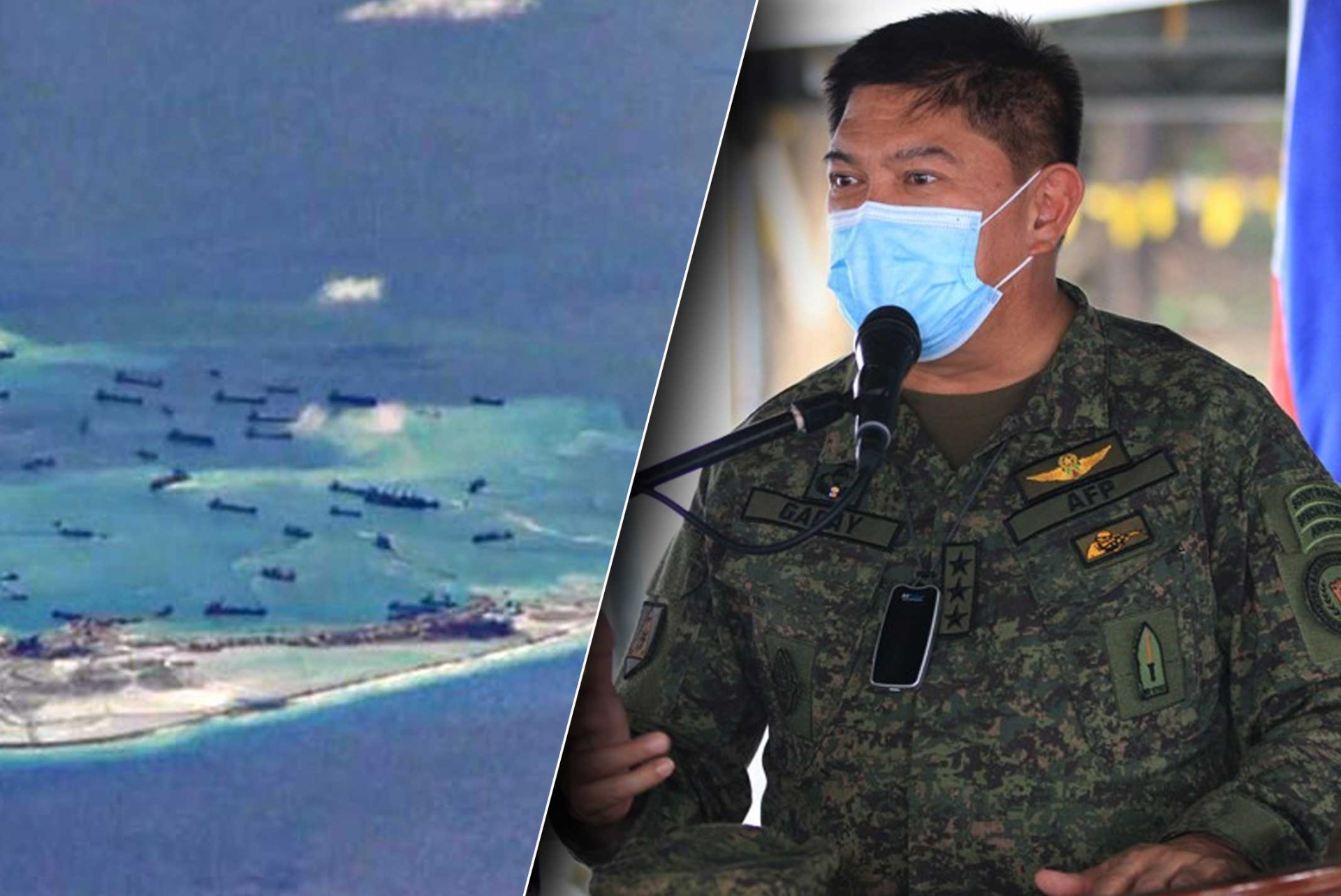 philippine military chief situation in the south china sea still uncertain