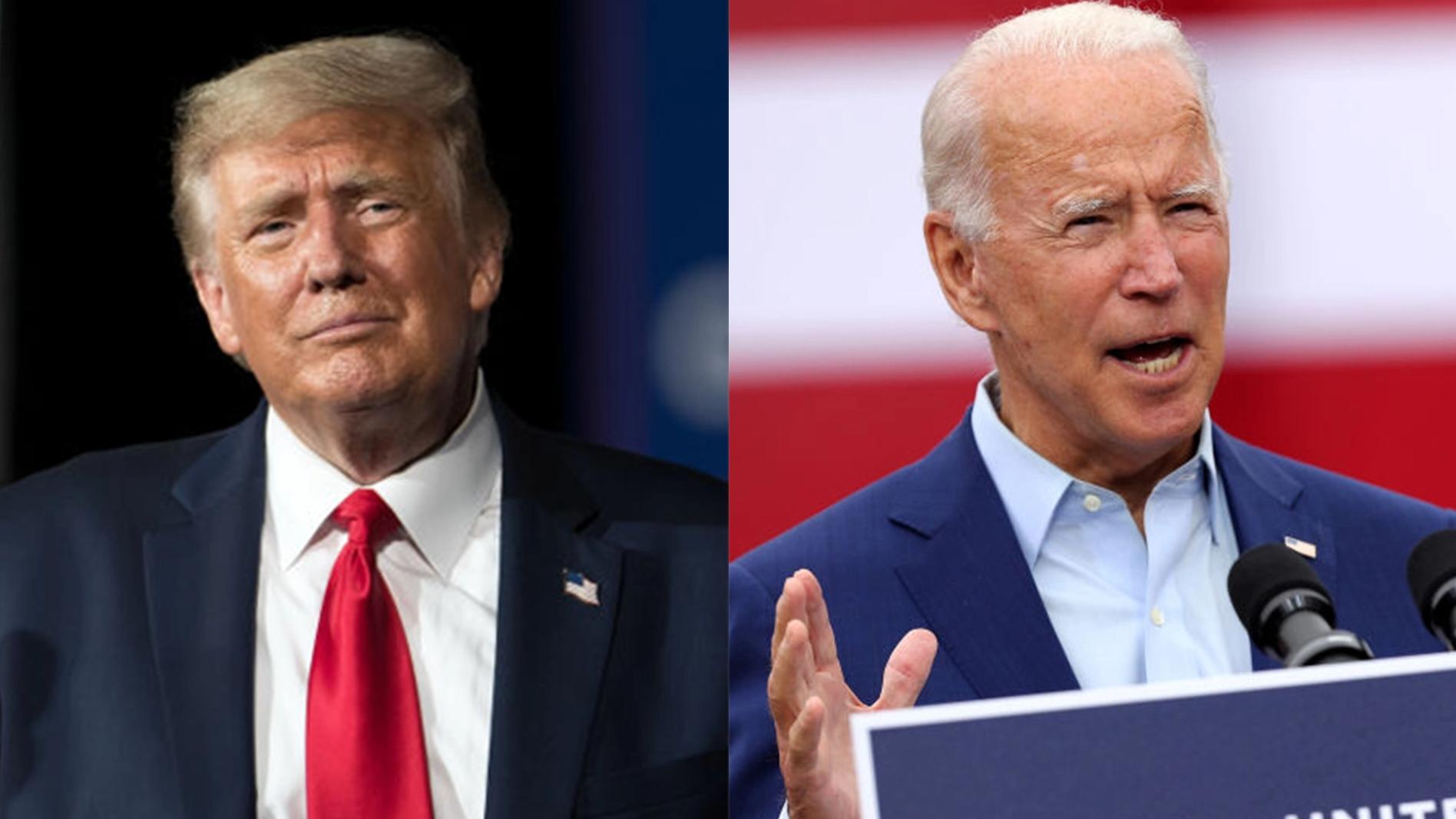 trump bidens upcoming debate in dueling town hall meetings instead of face to face