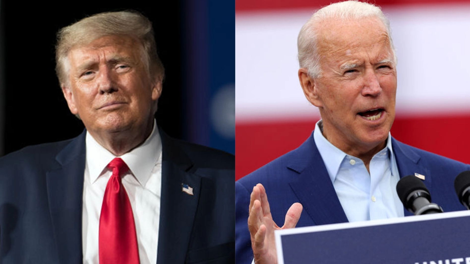 trump bidens upcoming debate in dueling town hall meetings instead of face to face