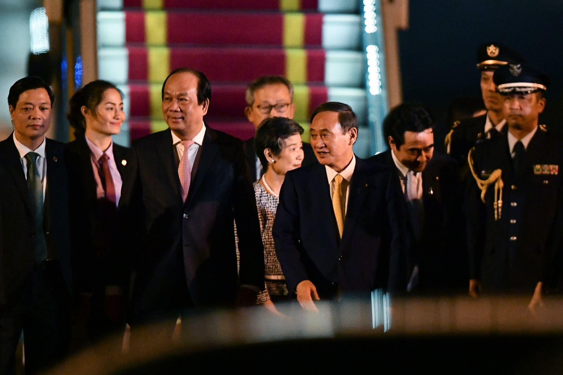 japanese pm arrives in vietnam a visit beyond the bilateral scope