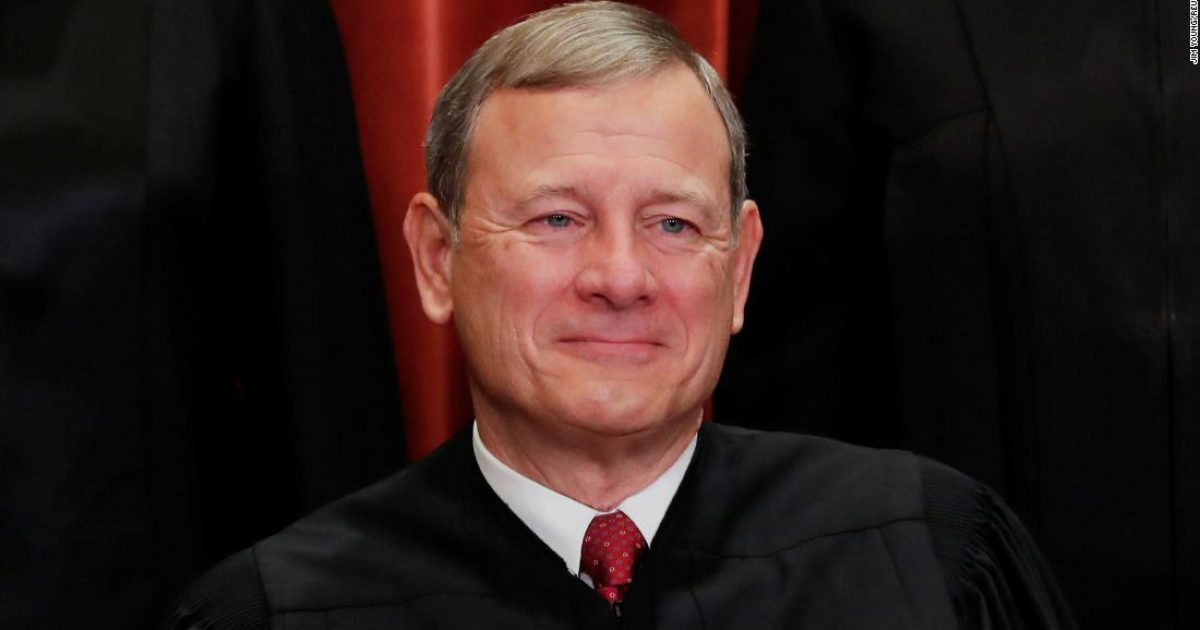 who is john roberts justice chief allegedly folded on texas election fraud case