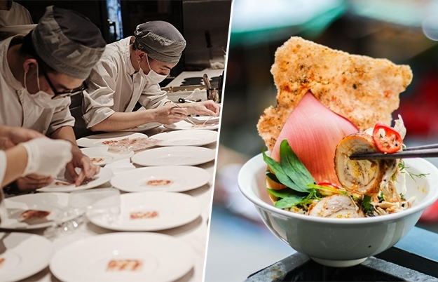 Two Vietnamese eateries into Asia's 100 best restaurants 2021