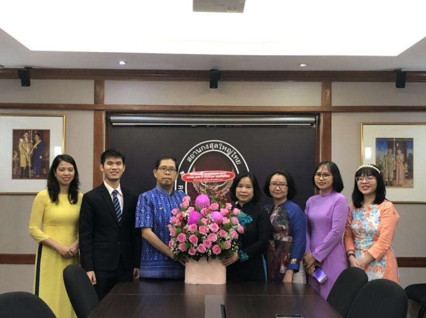 VUFO Southern Representative Office & Thailand Consulate General promote cooperation in 2021