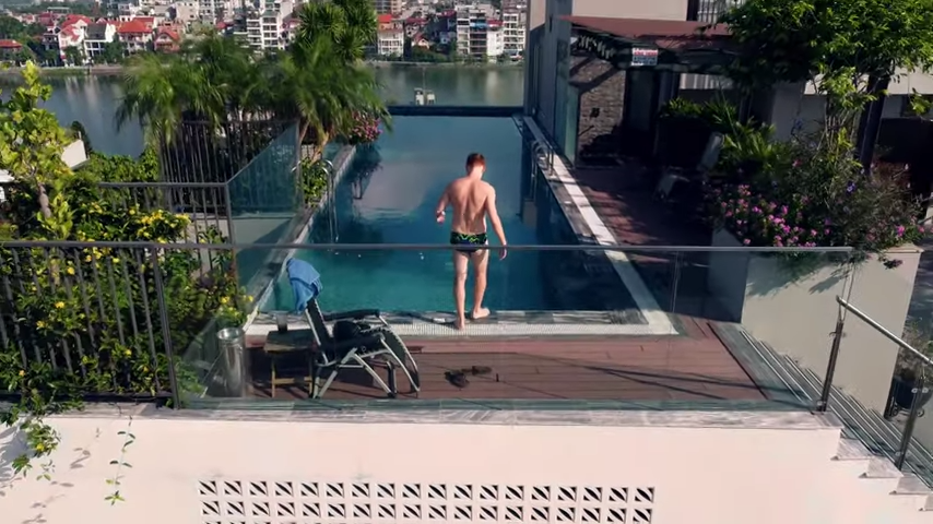 When a Travel Vlogger Stays Home: Behind the Scenes of Expat's High-Flying Lockdown Video