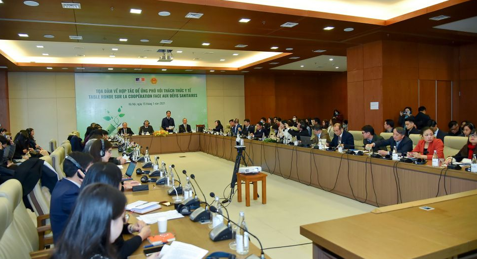 International cooperation needed for COVID-19 fight. (Photo: TG&VN)
